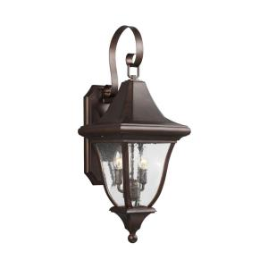 Oakmont - Outdoor Wall Lantern Traditional Cast Aluminum Approved for Wet Locations in Traditional Style - 10 Inches Wide by 26.5 Inches High