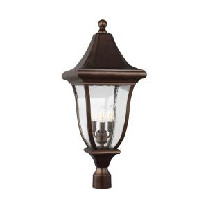Oakmont - Three Light Outdoor Post Lantern