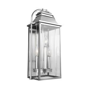 Wellsworth - Three Light Outdoor Wall Lantern