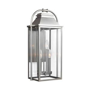 Wellsworth - Three Light Outdoor Wall Lantern
