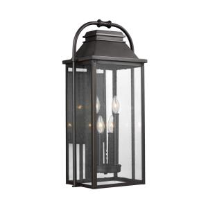 Wellsworth - Four Light Outdoor Wall Lantern