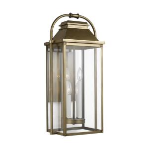 Wellsworth - Four Light Large Outdoor Wall Lantern