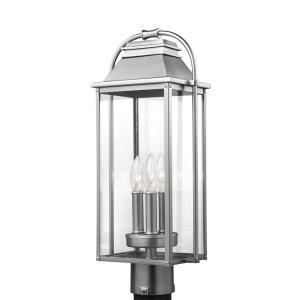 Wellsworth - Three Light Outdoor Post Lantern