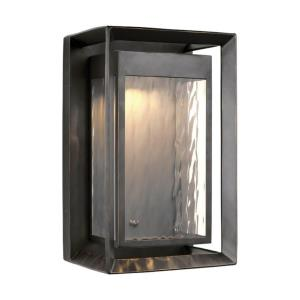 Urbandale - Outdoor Wall Lantern StoneStrong Approved for Wet Locations in Modern Style - 10 Inches Wide by 16.25 Inches High