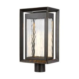 Urbandale - 26W 1 LED Outdoor Post Lantern in Modern Style - 10 Inches Wide by 18.75 Inches High