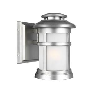 Newport 9 Inch Outdoor Wall Lantern Transitional StoneStrong Approved for Wet Locations