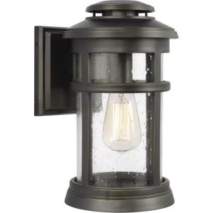 Newport - Outdoor Wall Lantern Transitional StoneStrong Approved for Wet Locations in Transitional Style - 7.5 Inches Wide by 13 Inches High