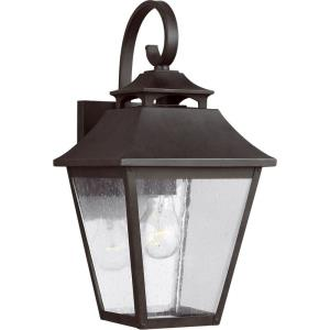 Sean Lavin-Outdoor Wall Lantern Stainless Steel in Traditional Style-8 Inches Wide by 16 Inches Tall