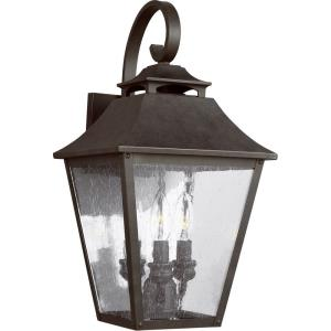 Galena 19 Inch Outdoor Wall Lantern  Stainless Steel Approved for Wet Locations