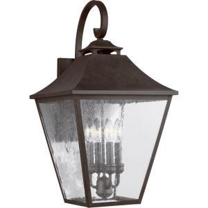 "Galena - 25.38"" Four Light Outdoor Wall Lantern"