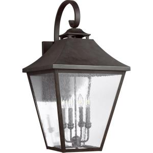 Sean Lavin-Outdoor Wall Lantern Stainless Steel in Traditional Style-17 Inches Wide by 33.38 Inches Tall