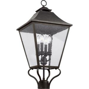 Galena - Four Light Outdoor Post/Pier Lantern