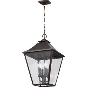 Galena - 13.25 Inch Four Light Outdoor Hanging Lantern