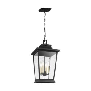 Sean Lavin - Pendant 4 Light in Traditional Style - 12 Inches Wide by 22 Inches High