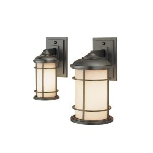 Lighthouse - Wall Mount Lantern in Transitional Style - 4.5 Inches Wide by 11.13 Inches High