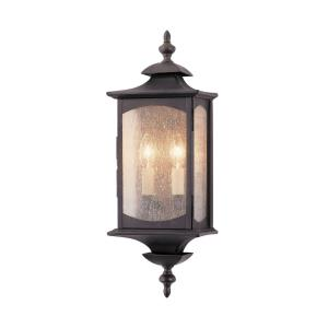 Market Square - Wall Mount Lantern in Traditional Style - 6.75 Inches Wide by 19 Inches High