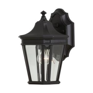 Cotswold Lane 11.5 Inch Outdoor Wall Lantern Traditional Aluminum Approved for Wet Locations