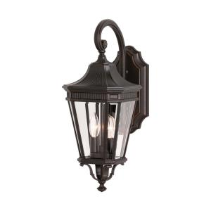 Cotswold Lane 20.5 Inch Outdoor Wall Lantern Traditional Aluminum Approved for Wet Locations