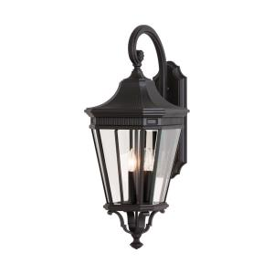 Cotswold Lane 30 Inch Outdoor Wall Lantern Traditional Aluminum Approved for Wet Locations