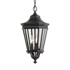 Cotswold Lane - Pendant 3 Light in Traditional Style - 9.5 Inches Wide by 21.5 Inches High