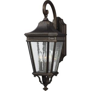 Cotswold Lane 23.75 Inch Outdoor Wall Lantern Traditional Aluminum Approved for Wet Locations