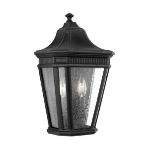 Cotswold Lane - Outdoor Wall Lantern Traditional Aluminum Approved for Wet Locations in Traditional Style - 9.5 Inches Wide by 16 Inches High