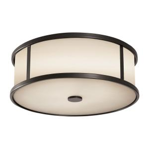 Dakota - 3 Light Outdoor Flushmount Ceiling Fixture