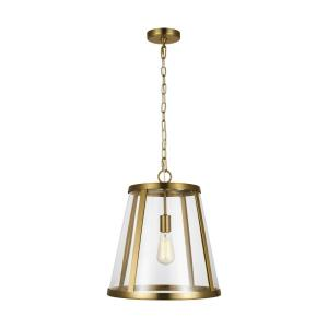 Harrow - 1 Light Mini-Pendant in Modern Style - 16 Inches Wide by 17.38 Inches High