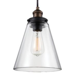 "Baskin - 8.5"" One Light Pendant"