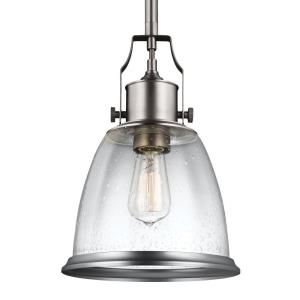Hobson - Pendant 1 Light in Transitional Style - 9.5 Inches Wide by 14.13 Inches High