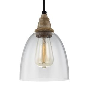 Matrimonio - Pendant 1 Light in Traditional Style - 6.38 Inches Wide by 9.13 Inches High