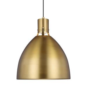 "Brynne - 19.75"" 14W 1 LED Large Pendant"