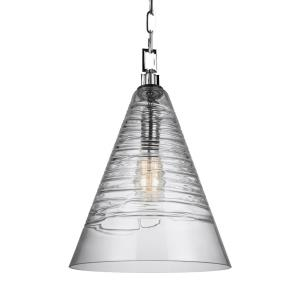 Elmore - Pendant 1 Light in Contemporary Style - 11.75 Inches Wide by 18 Inches High