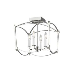 Thayer - 4 Light Semi-Flush Mount