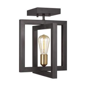 Finnegan - 1 Light Semi-Flush Mount