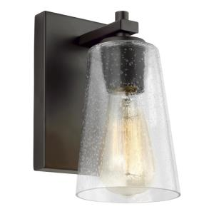 Mercer - One Light Wall Sconce in Traditional Style - 5 Inches Wide by 8.88 Inches High