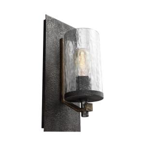 Angelo - One Light Wall Sconce in Rustic Style - 5.5 Inches Wide by 13 Inches High