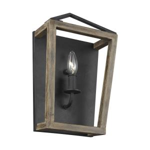 Gannet - One Light Wall Sconce in Traditional Style - 8.63 Inches Wide by 14.13 Inches High
