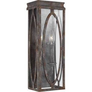 Patrice - Two Light Wall Sconce in Transitional Style - 6 Inches Wide by 17.25 Inches High