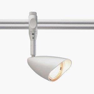 Argon Swivel - One Light Sloped Conical Track Head