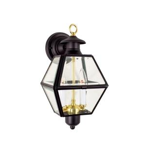 "Olde Colony - 14.5"" Two Light Outdoor Wall Mount"