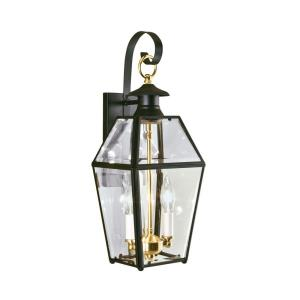 "Olde Colony - 17"" Two Light Outdoor Wall Mount"