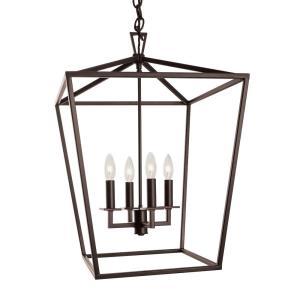 Cage - Four Light Medium Pendant