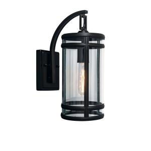 "New Yorker - 14"" One Light Outdoor Wall Mount"