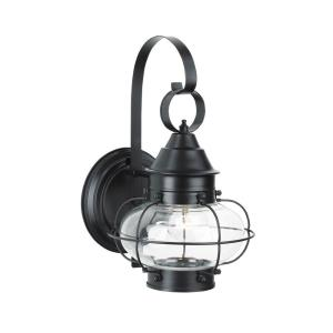 Cottage Onion - One Light Outdoor Small Wall Lantern