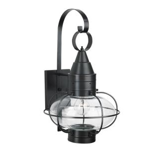 Classic Onion - One Light Medium Outdoor Wall Mount