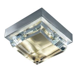 """Crystal - 6.38"""" 14W 1 LED Mini Flush Mount"""