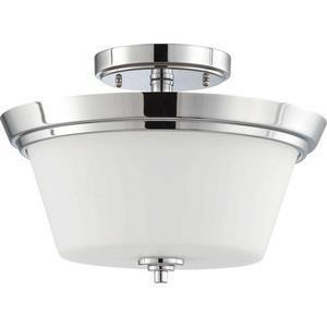 Bento - Two Light Semi-Flush Mount