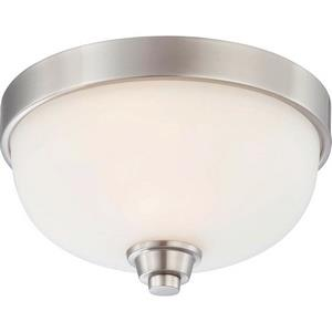 Helium - One Light Dome Flush Mount