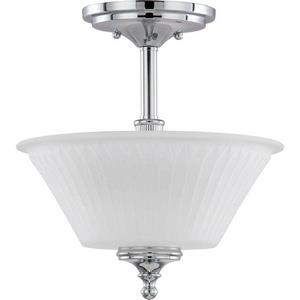 Teller - Two Light Semi-Flush Mount